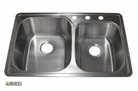 Stainless Steel Kitchen Sink T3322_L