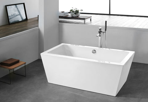 Freestanding Acrylic Soaking Tub XA-105
