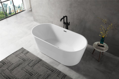 Freestanding Acrylic Soaking Tub XA-111