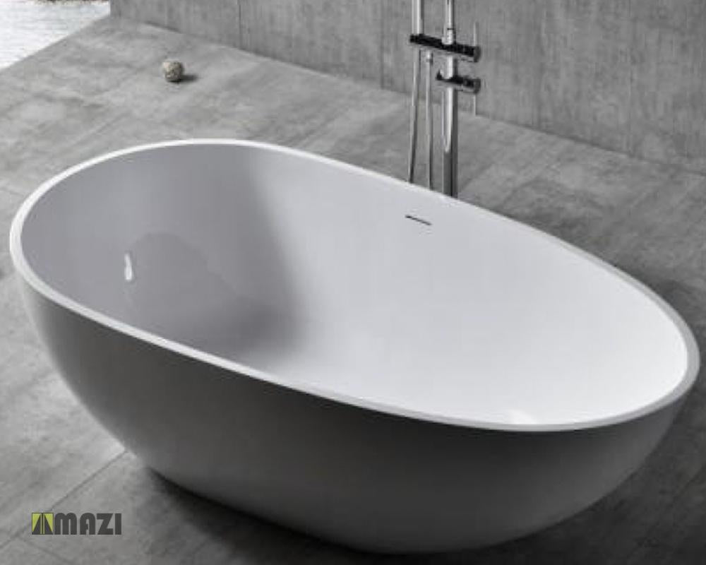 Freestanding Solid Surface Soaking Tub Hx 8806