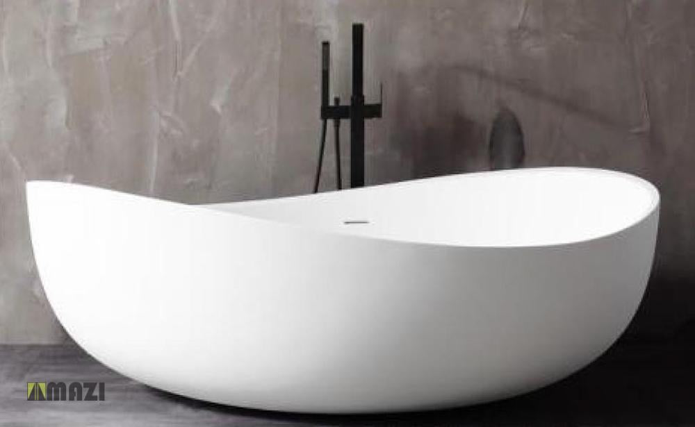 Freestanding Solid Surface Soaking Tub Hx 8819
