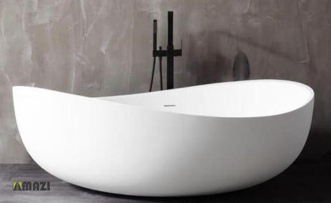 Freestanding Solid Surface Soaking Tub HX-8819
