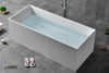 Freestanding Solid Surface Soaking Tub HX-8872