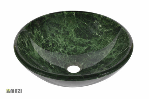 Glass Vessel Bathroom Sink Y69