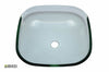 Glass Vessel Bathroom Sink YHT307