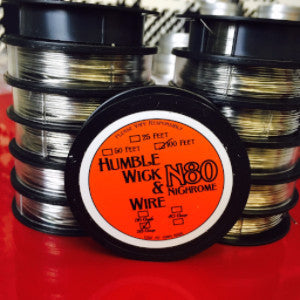 500ft and 1000ft spools 42 and 44 Gauge Nichrome 80