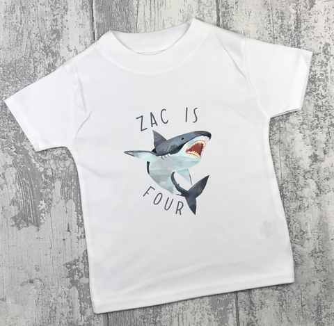 Personalised Birthday - Shark - L&O Designs