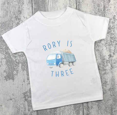 Personalised Birthday - Truck - L&O Designs