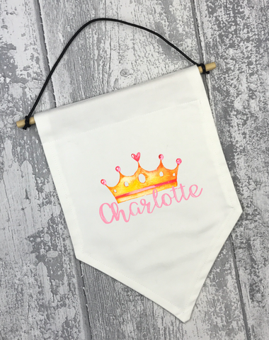 Crown Banner - L&O Designs