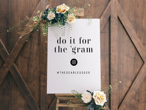 Do It For The Gram - L&O Designs