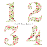 Patterned Birthday - Field Of Roses - L&O Designs