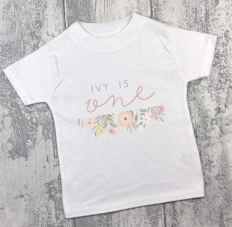 Personalised Birthday - Floral - L&O Designs