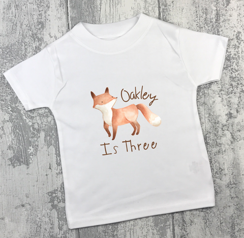 Personalised Birthday - Fox - L&O Designs