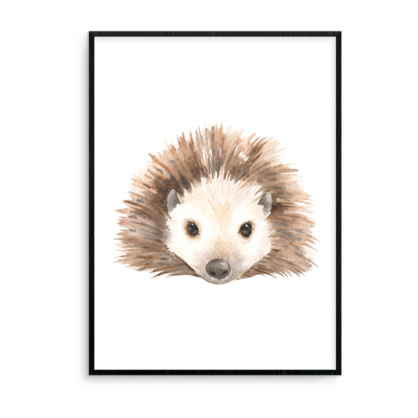Hedgehog Without Flowers - L&O Designs