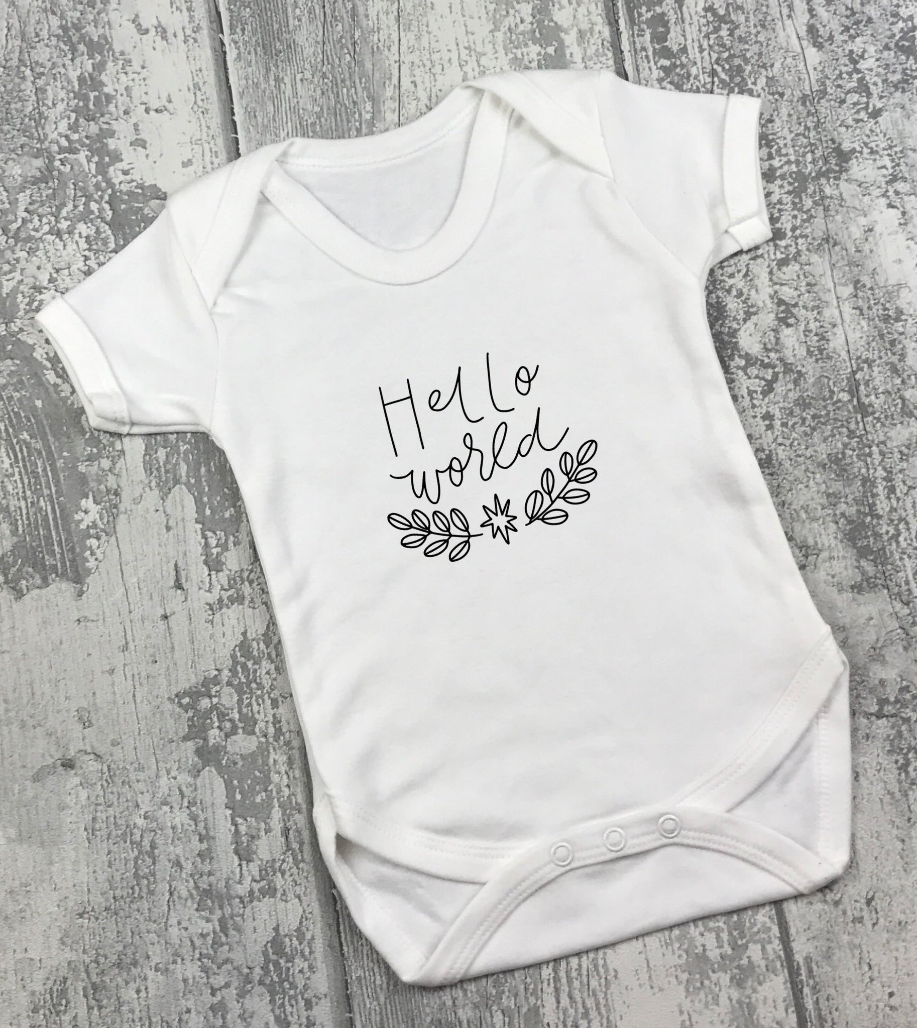 Hello World Vest 2 - L&O Designs