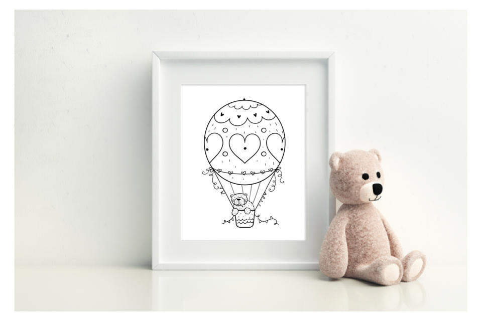 Hot Air Ballon - L&O Designs