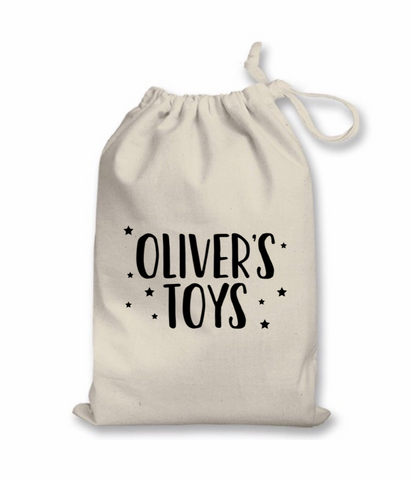 Personalised Toy Bag - L&O Designs