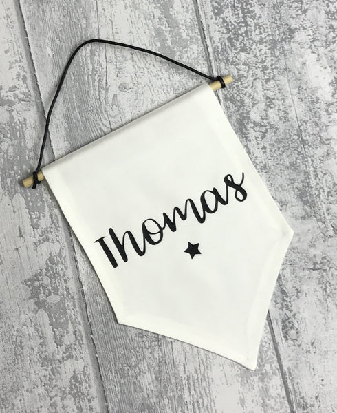 Personalised Name Banner - L&O Designs