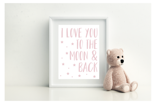 I Love You To The Moon And Back - L&O Designs
