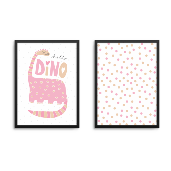 Girls Dinosaur Set Of 2