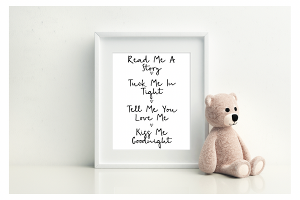 Read Me A Story & Tuck Me In Tight - L&O Designs