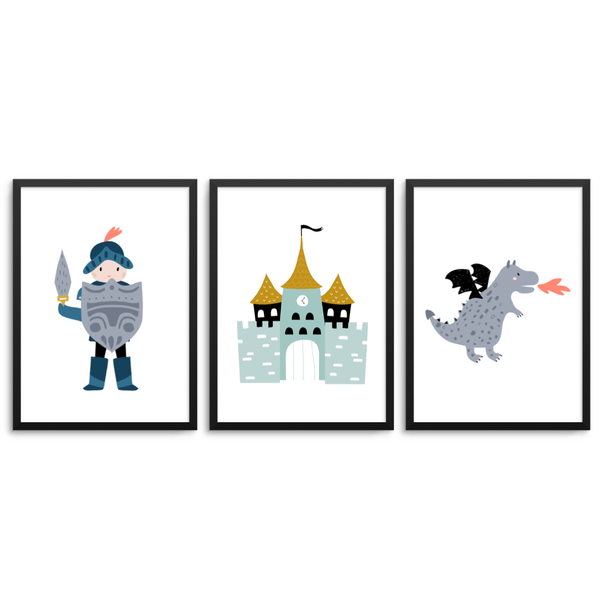 Knight/Boys Castle/Dragon Set - L&O Designs