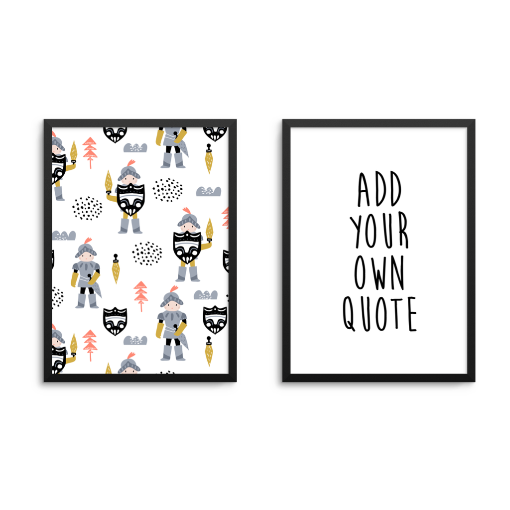 Knight & Personal Quote Set