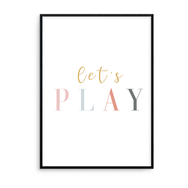 Let's Play - L&O Designs