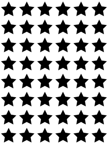 Mini Star Wall Stickers - L&O Designs