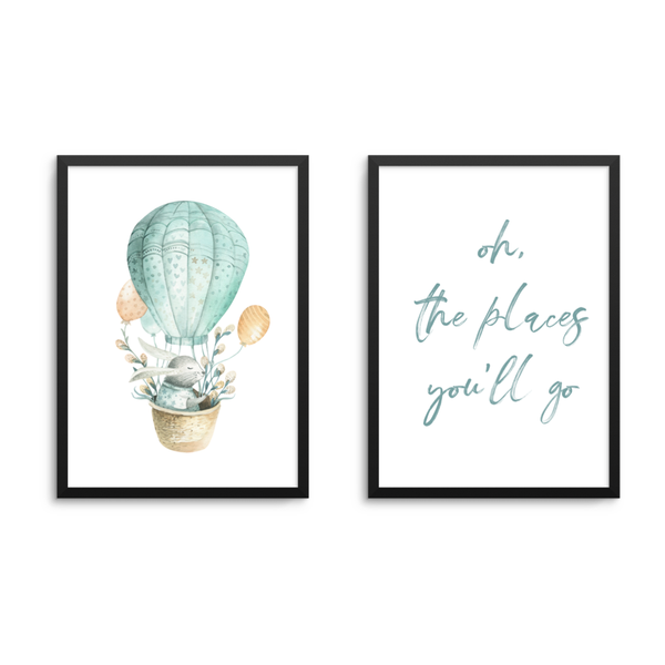 Oh, The Places You'll Go Set - L&O Designs