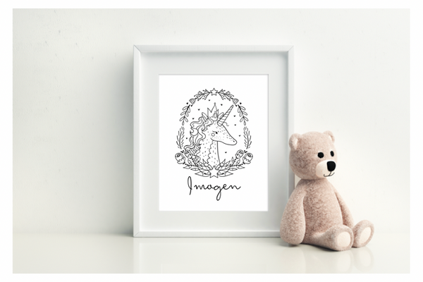 Personalised Unicorn - L&O Designs