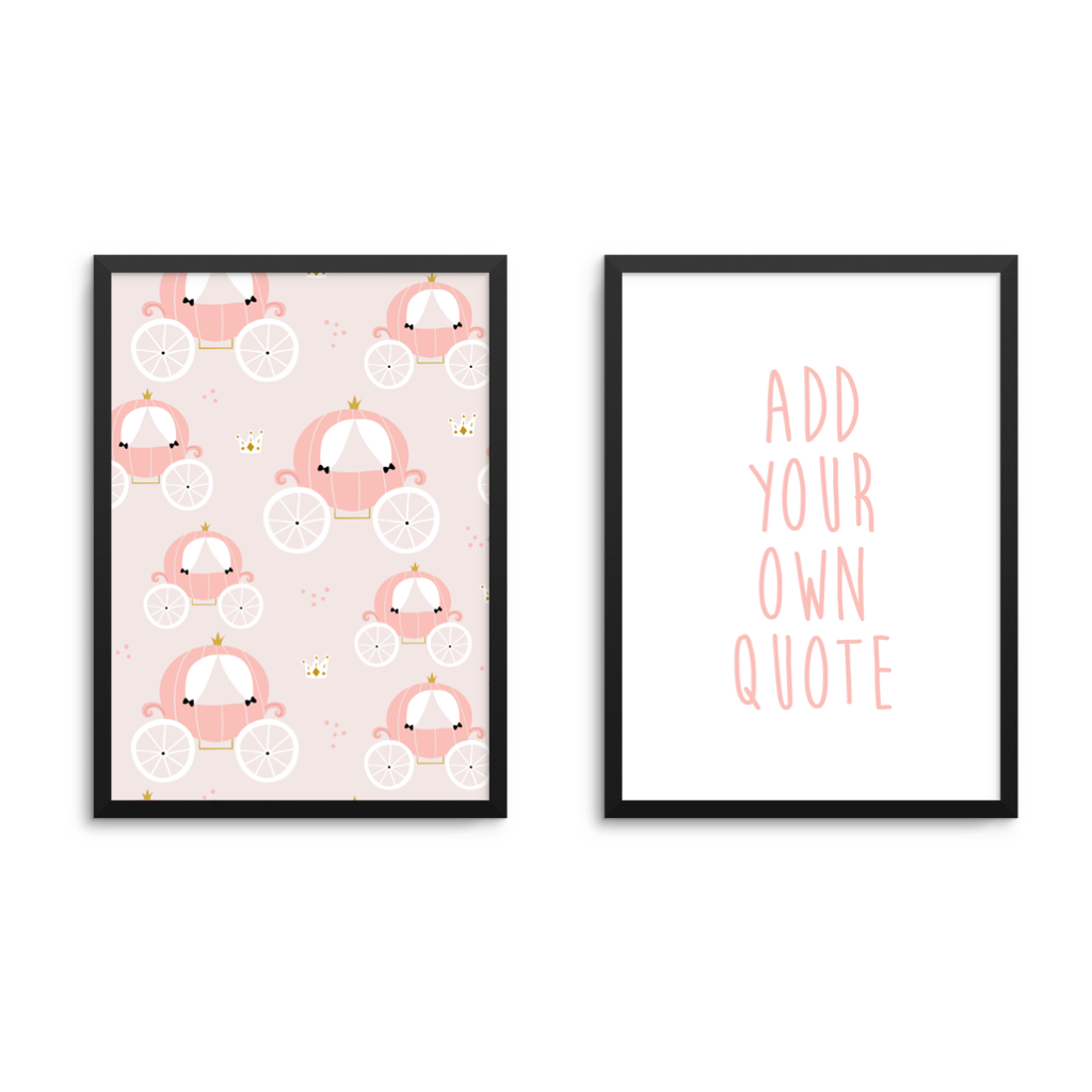 Princess & Personal Quote Set