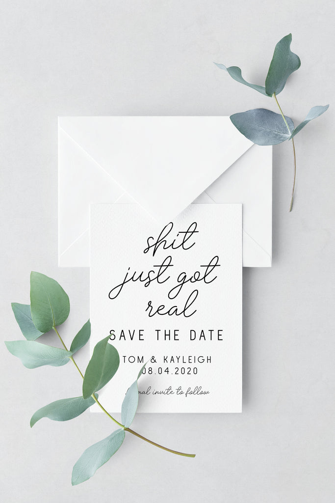 Save The Date - Design 14 - L&O Designs