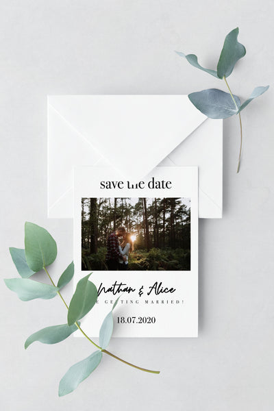 Save The Date - Design 22 - L&O Designs