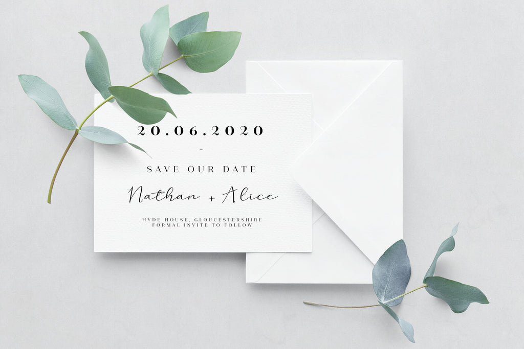 Save The Date - Design 24 - L&O Designs