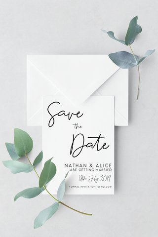 Save The Date - Design 4 - L&O Designs