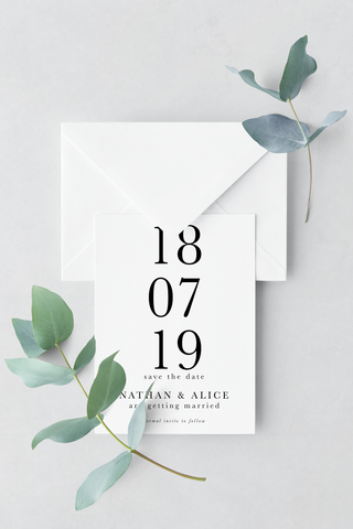 Save The Date - Design 7 - L&O Designs