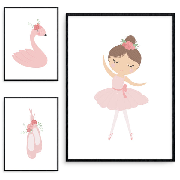 Swan/Ballerina Set - L&O Designs