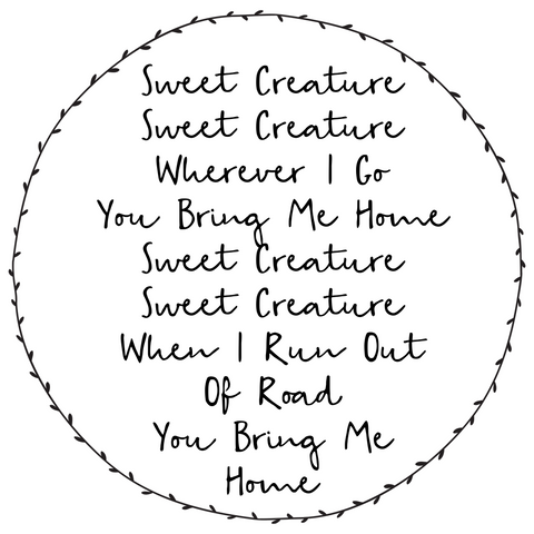 Sweet Creature Wall Sticker - L&O Designs
