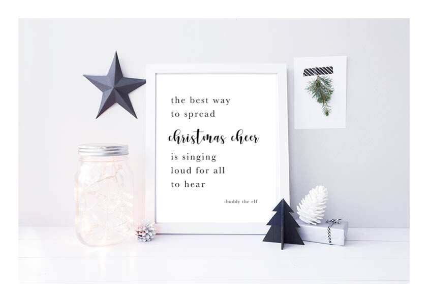 The Best Way To Spread Christmas Cheer Is Singing Loud For All To Hear - L&O Designs