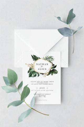 Wedding Invitation - Design 13 - L&O Designs