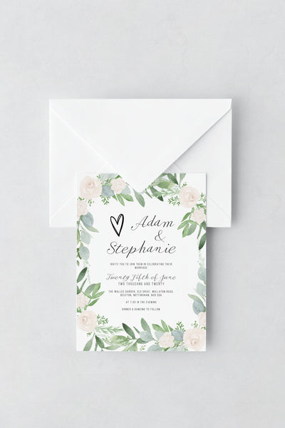 Wedding Invitation - Design 15 - L&O Designs