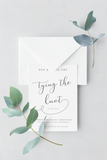 Wedding Invitation - Design 7 - L&O Designs