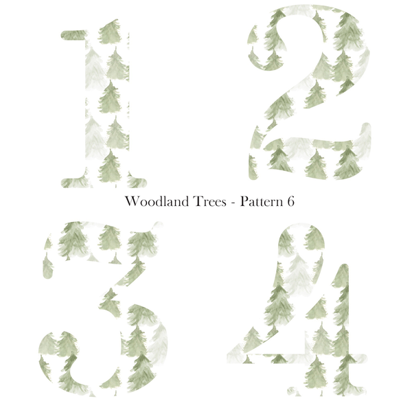 Patterned Birthday - Trees - L&O Designs