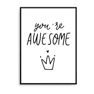 You're Awesome - L&O Designs