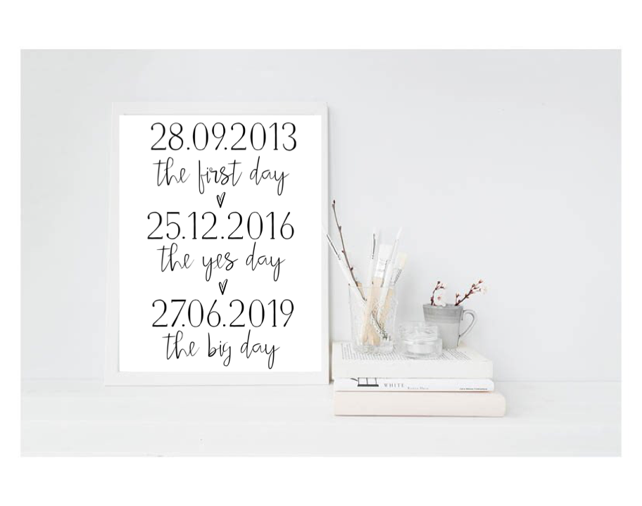 The Big Day - L&O Designs