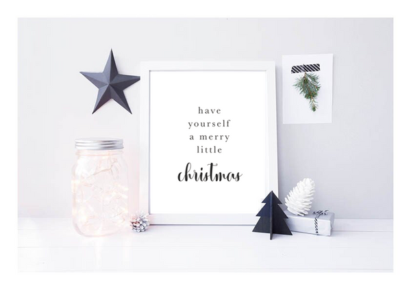 Have Yourself A Merry Little Christmas - L&O Designs