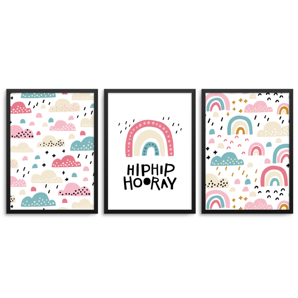 Hip Hip Hooray Set Of 3