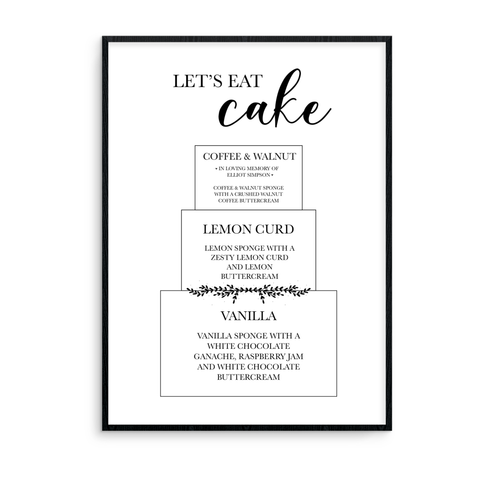 Let's Eat Cake - L&O Designs