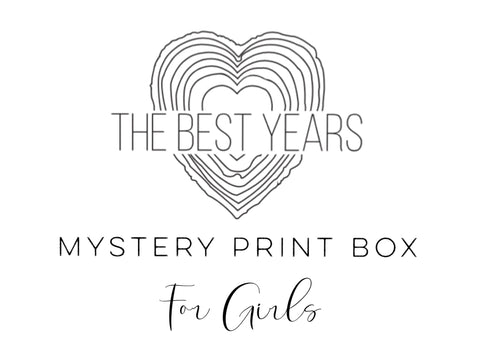 Mystery Print Box - Prints For Girls